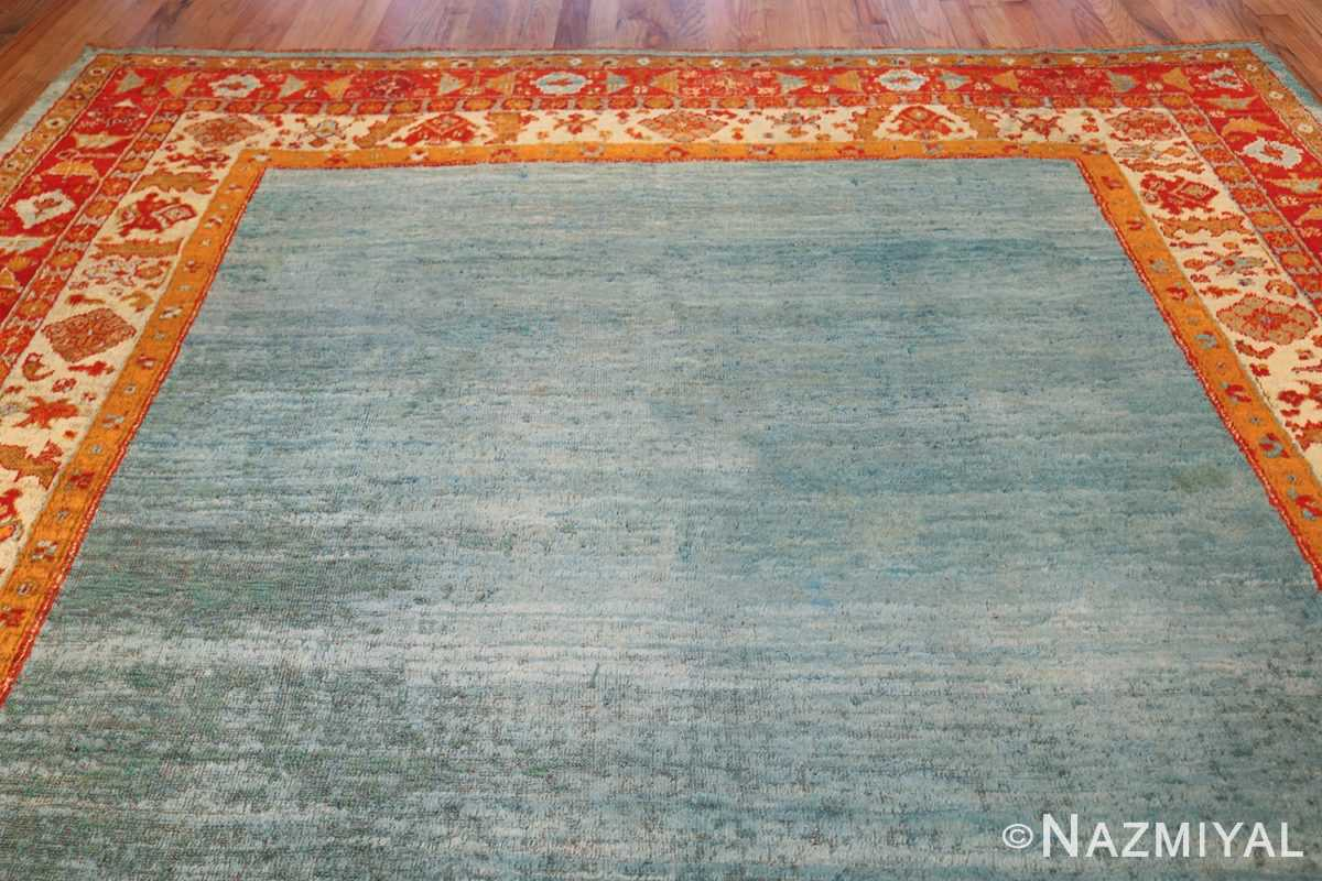 antique turkish angora oushak rug 49688 top Nazmiyal
