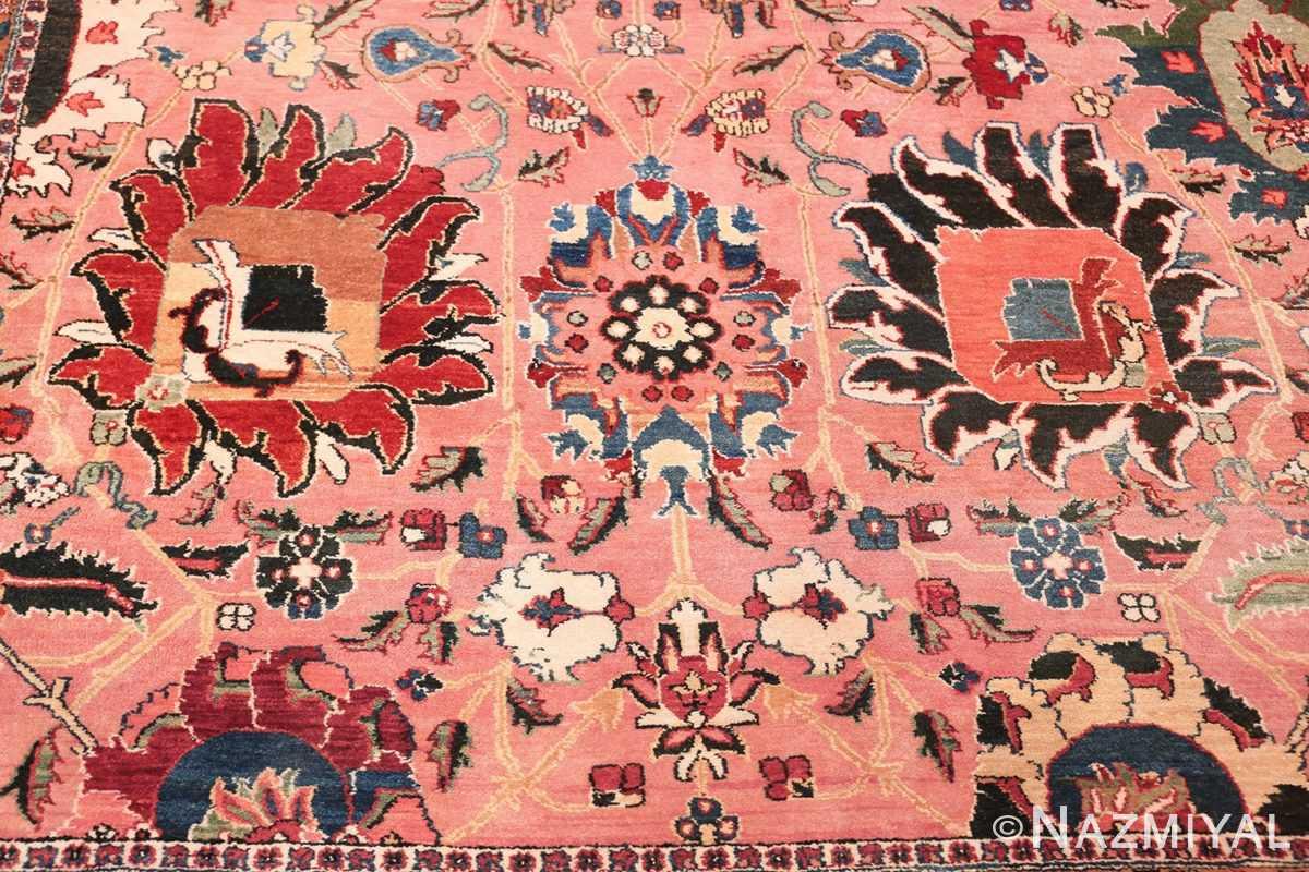 large vase design indian agra rug 49770 blue Nazmiyal