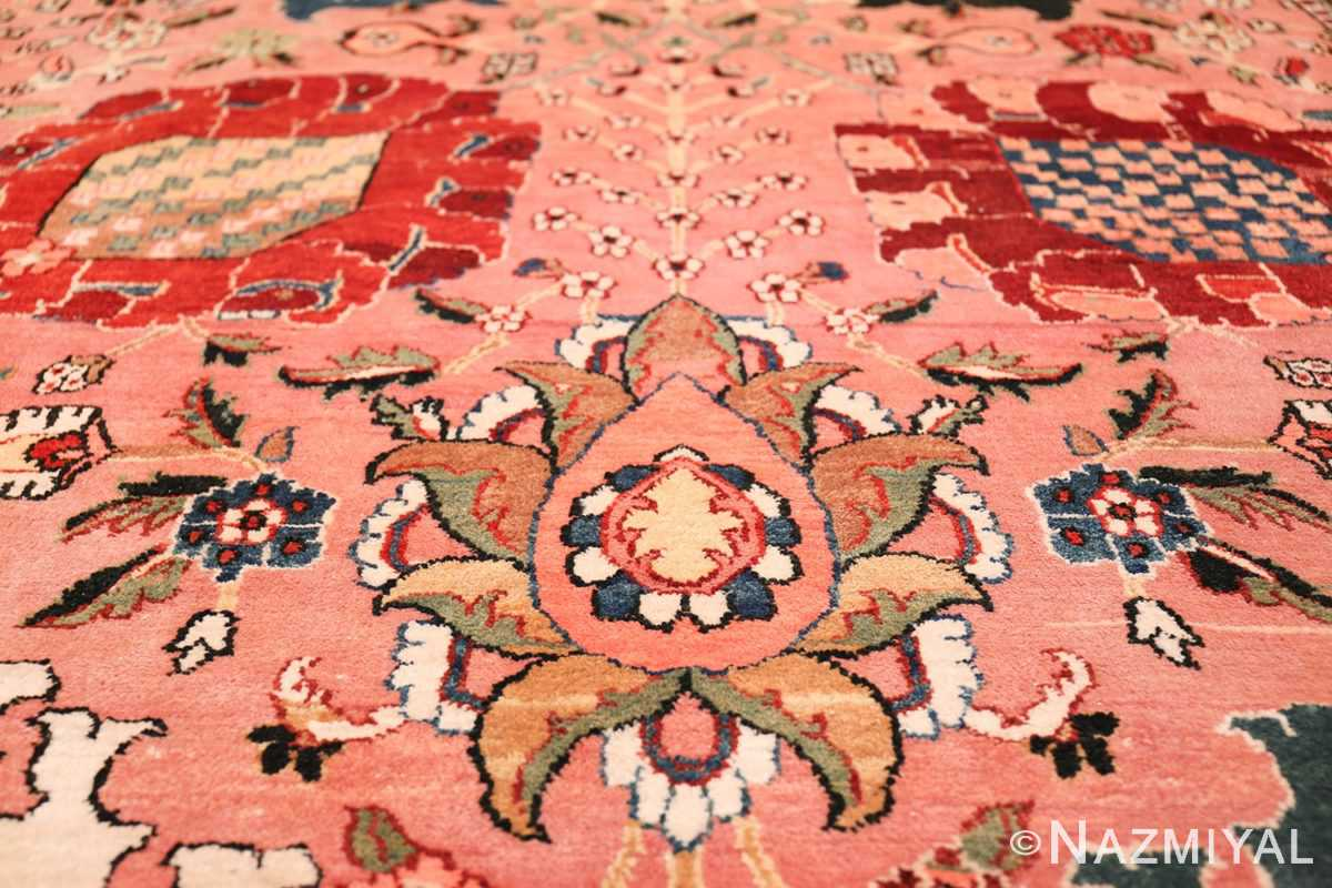 large vase design indian agra rug 49770 design Nazmiyal