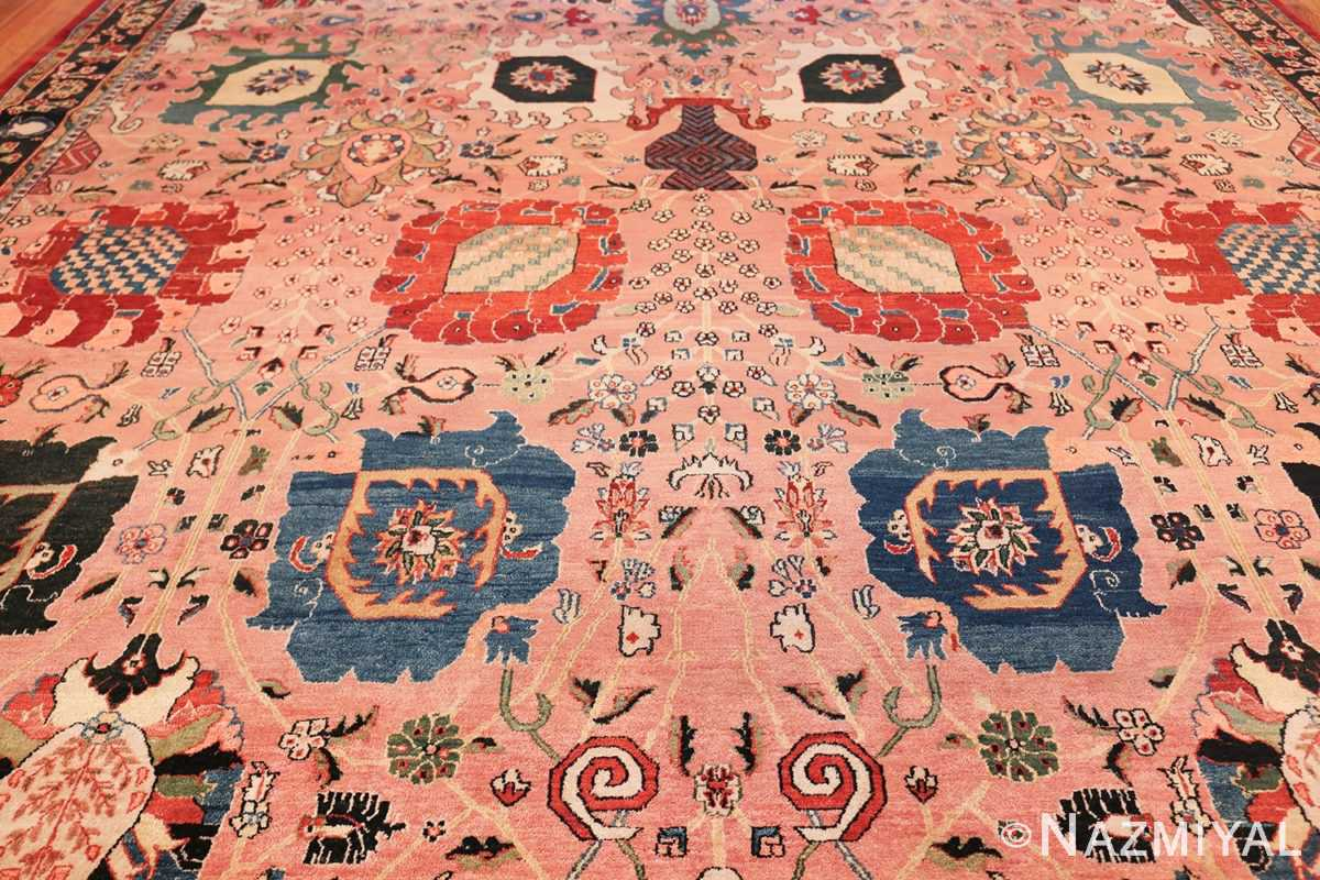 large vase design indian agra rug 49770 middle Nazmiyal