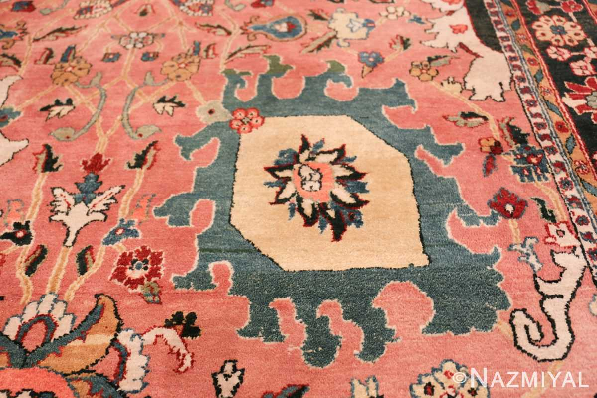 large vase design indian agra rug 49770 part Nazmiyal