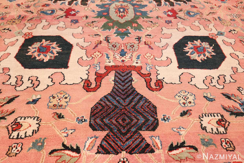 large vase design indian agra rug 49770 vase Nazmiyal