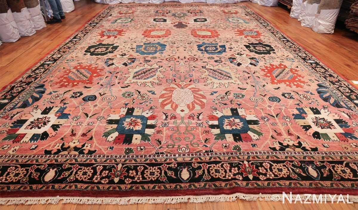 large vase design indian agra rug 49770 whole Nazmiyal