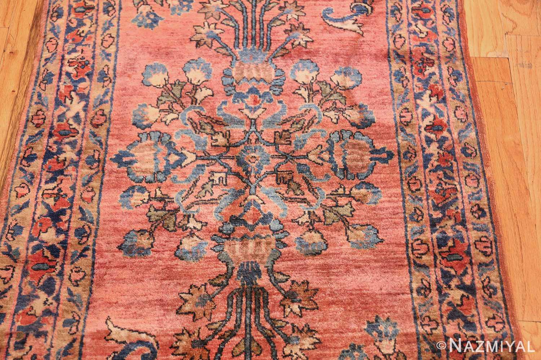 Long And Narrow Antique Persian Sarouk Runner Rug 49668 By