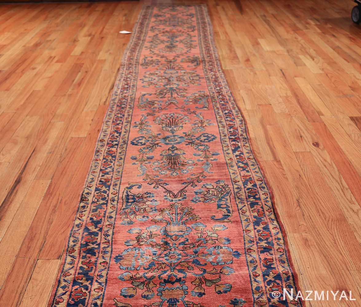 Vintage Persian Rugs: Long And Narrow Antique Persian Sarouk Runner Rug 49668 By