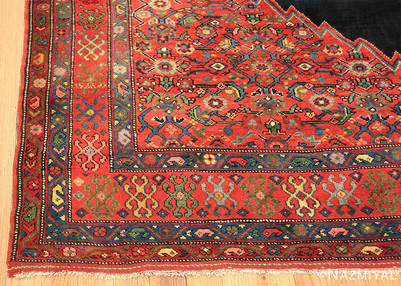 long hallway antique persian farahan rug 49754 corner Nazmiyal