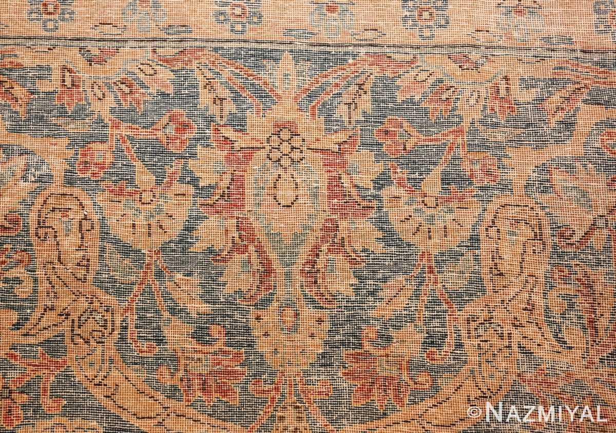 oversize animal motif antique persian kashan rug 49755 knots Nazmiyal