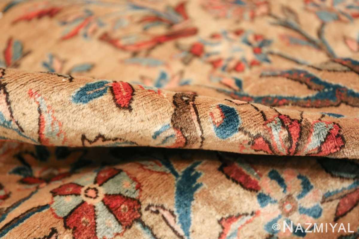 oversize animal motif antique persian kashan rug 49755 pile Nazmiyal