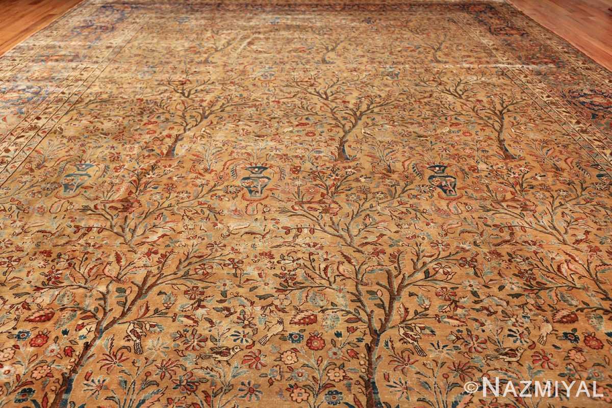 oversize animal motif antique persian kashan rug 49755 whole Nazmiyal