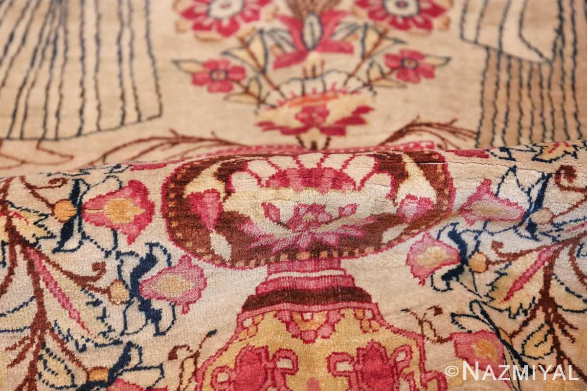 pictorial antique persian kerman rug 49778 pile Nazmiyal