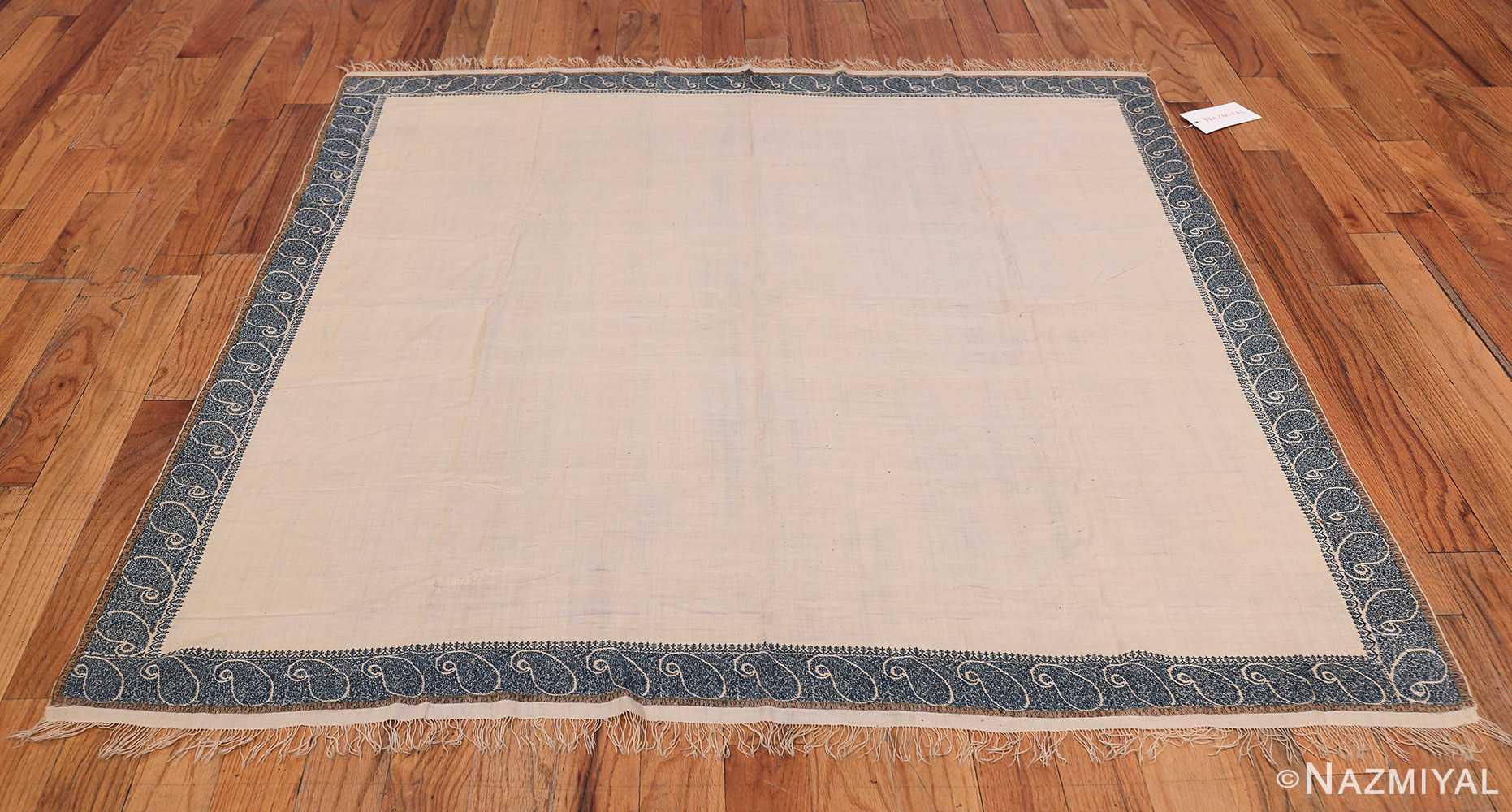 small size antique indian shawl 49781 whole Nazmiyal