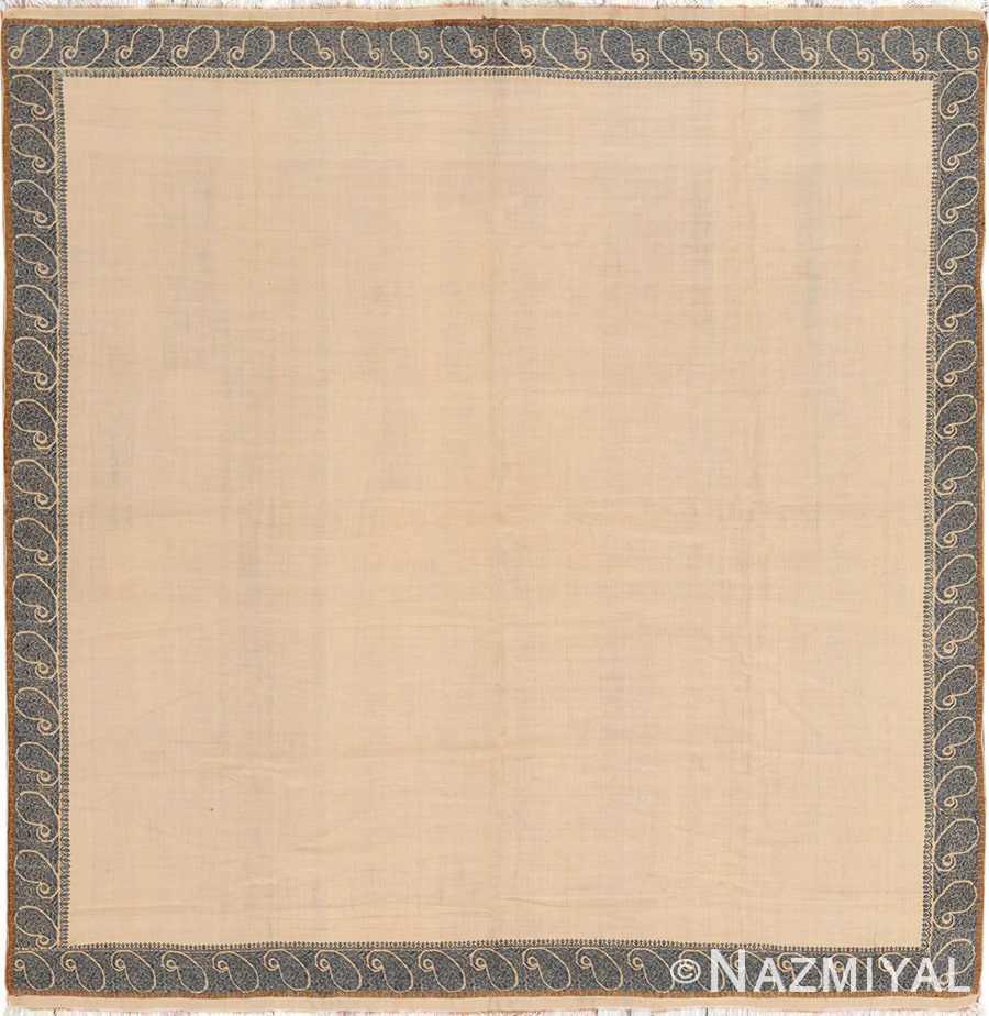 Small Size Antique Indian Paisley Shawl 49781 - Nazmiyal