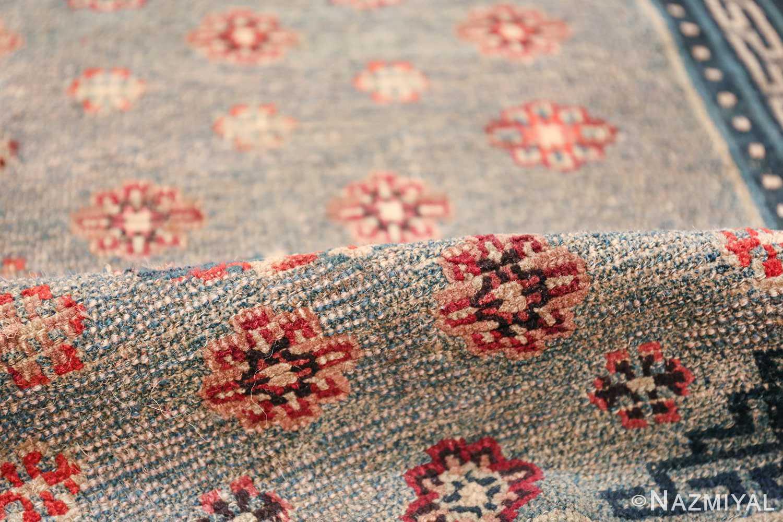 Small Size Antique Tibetan Rug 49796 floral pile Nazmiyal
