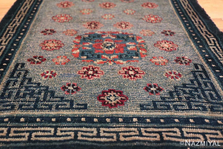 Small Size Antique Tibetan Rug 49796 geometric angle Nazmiyal