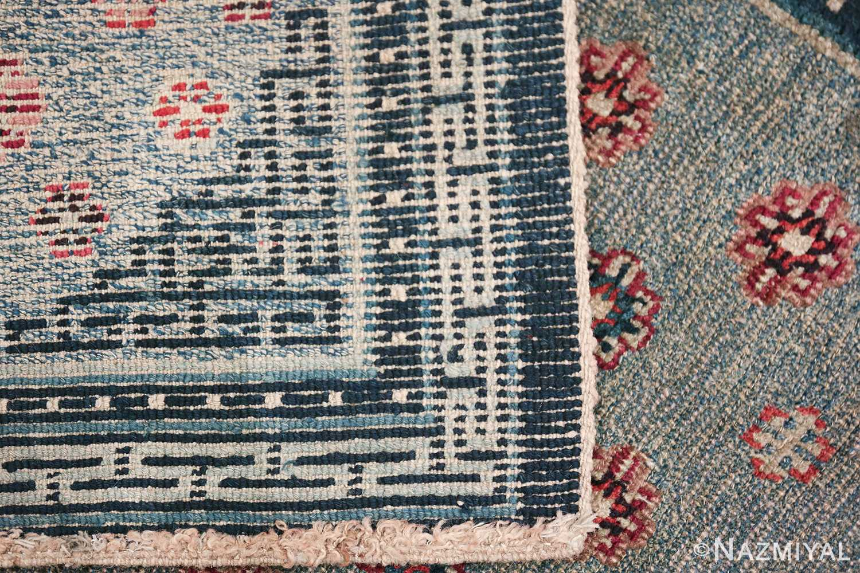 Small Size Antique Tibetan Rug 49796 gometric knots Nazmiyal