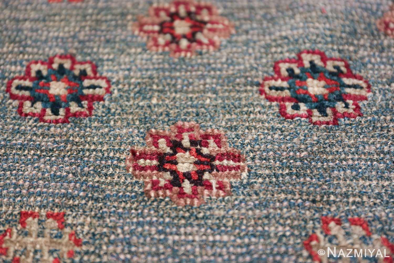 Small Size Antique Tibetan Rug 49796 tiny flower Nazmiyal