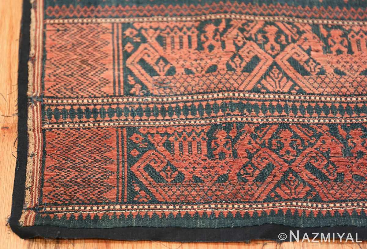 small size antique tribal african textile 49780 corner Nazmiyal