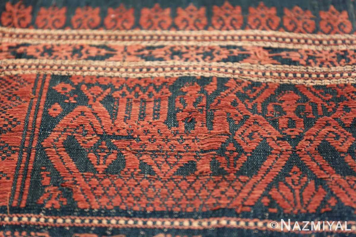 small size antique tribal african textile 49780 design Nazmiyal