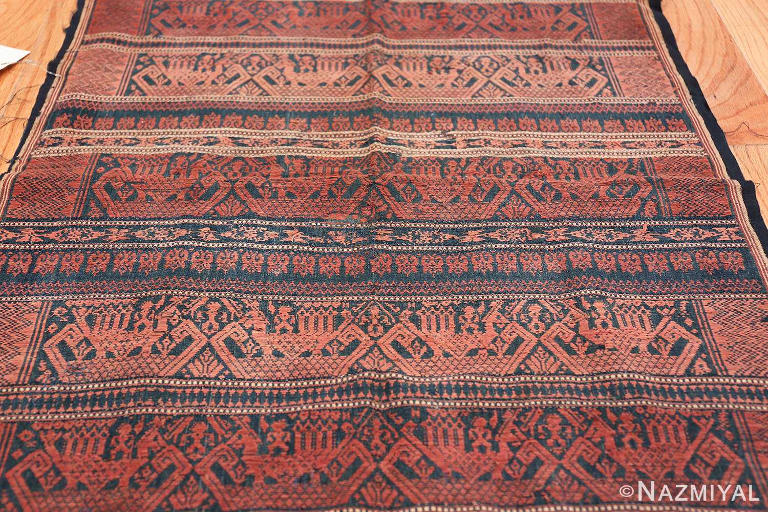 small size antique tribal african textile 49780 field Nazmiyal