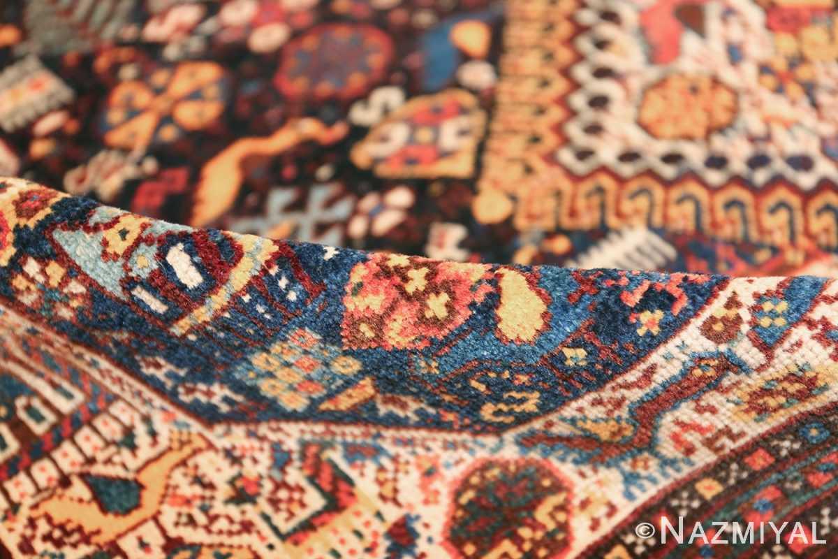 tribal antique persian qashqai rug 49768 pile Namziyal