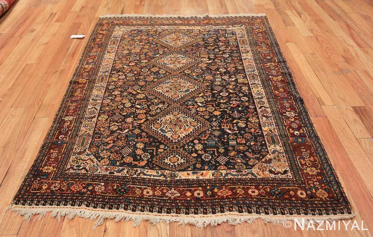 tribal antique persian qashqai rug 49768 whole Namziyal
