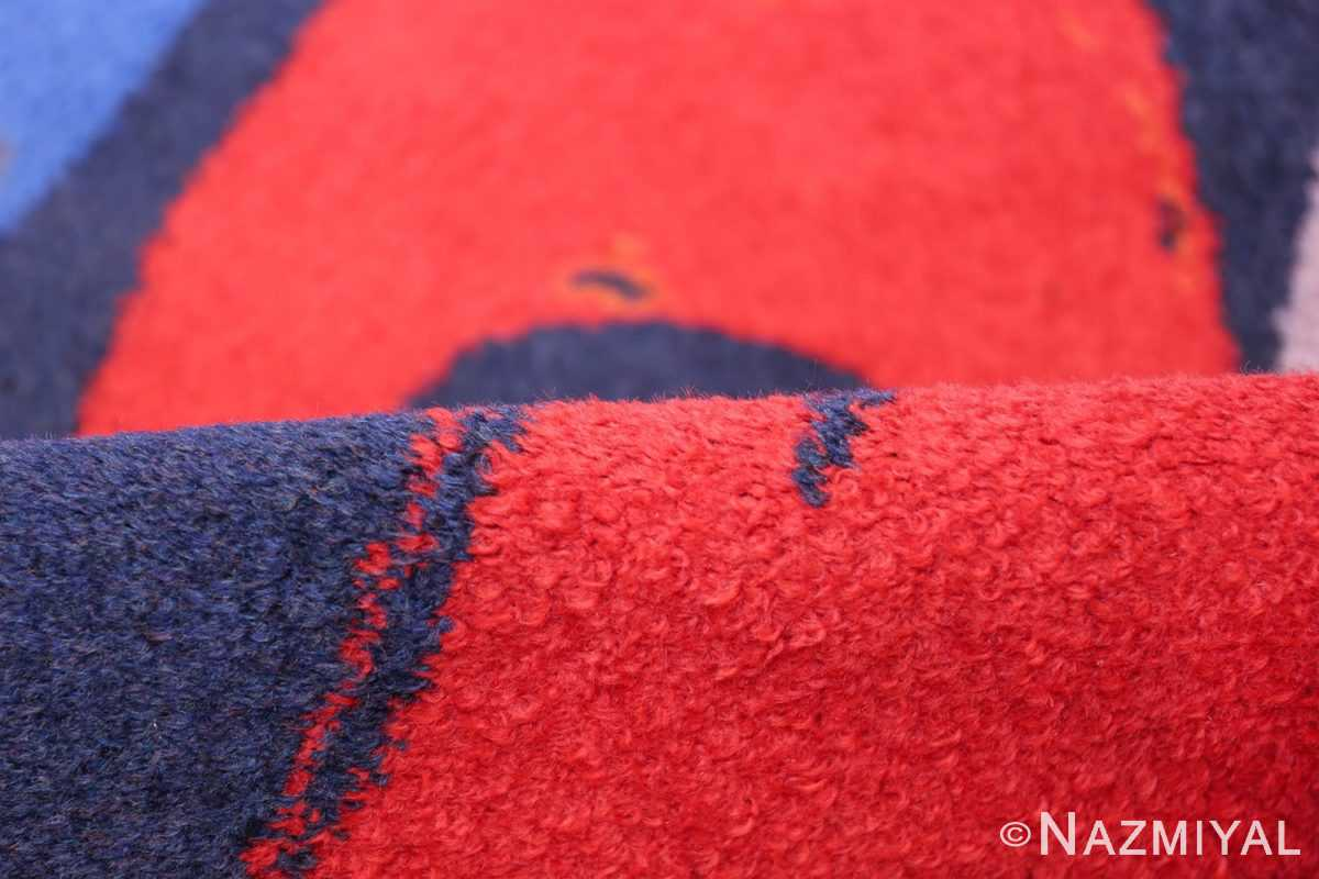Vintage Andy Warhol Ege Art Line Diamond Dust Shoes Scandinavian rug 49784 pile Nazmiyal