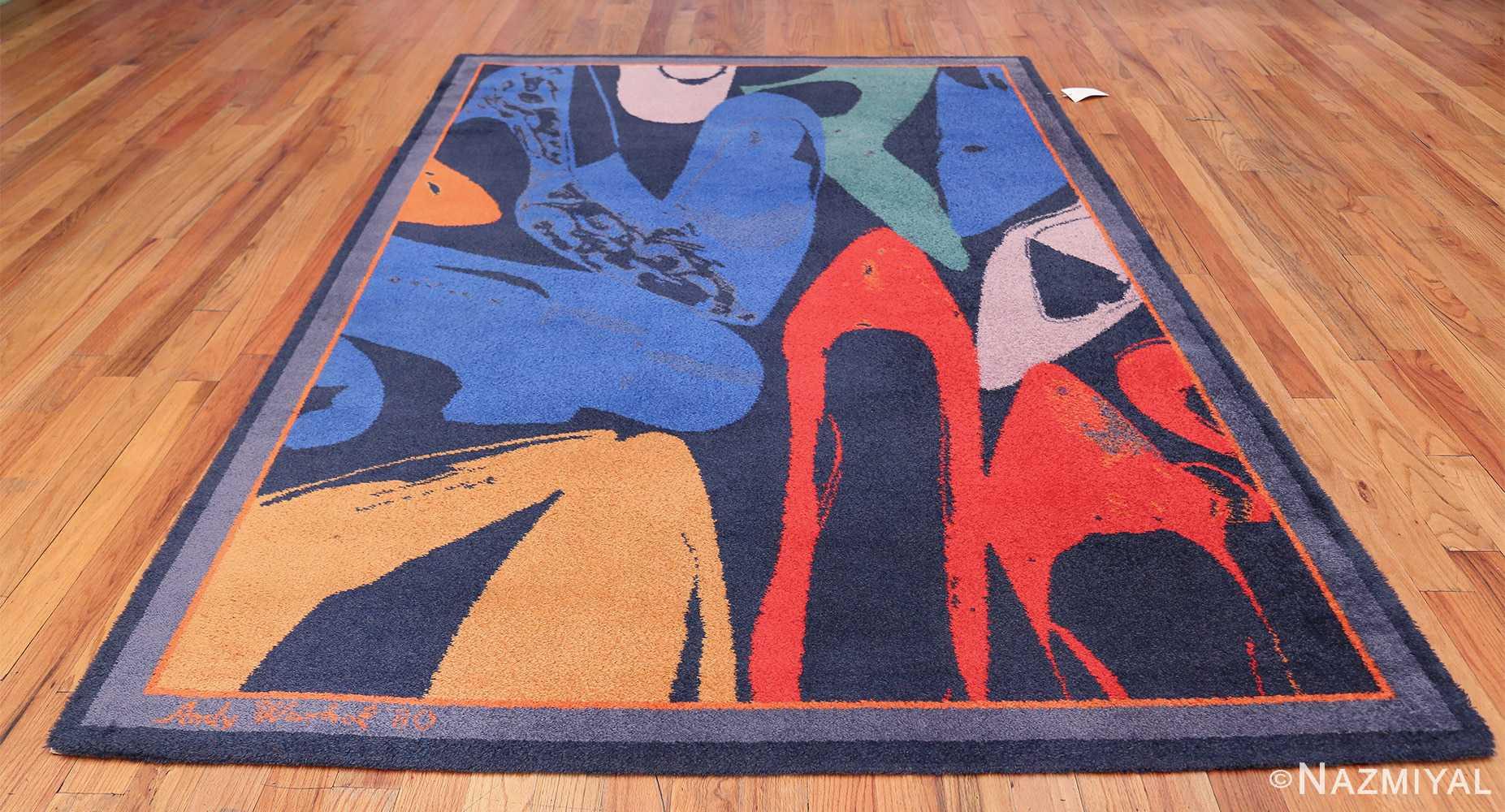 Vintage Andy Warhol Ege Art Line Diamond Dust Shoes Scandinavian rug 49784 whole Nazmiyal