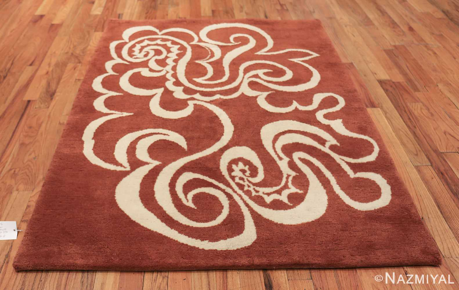 Vintage Arabesques Picasso Rug Commissioned by Marie Cuttoli 49802 top whole design Nazmiyal
