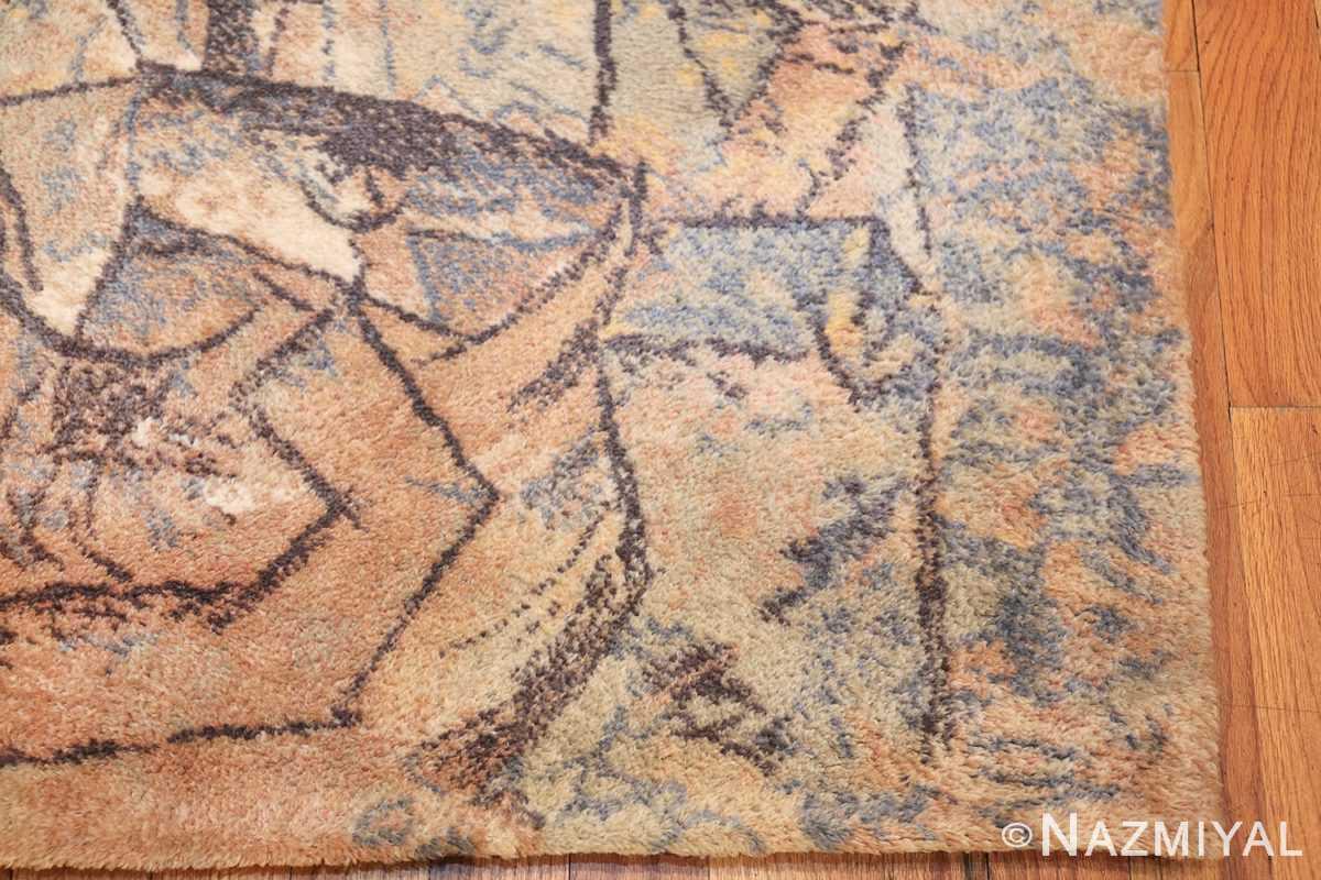 vintage ege art line scandinavian rug by Pablo Picasso 49758 corner Nazmiyal