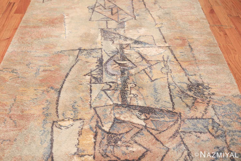 vintage ege art line scandinavian rug by Pablo Picasso 49758 field Nazmiyal