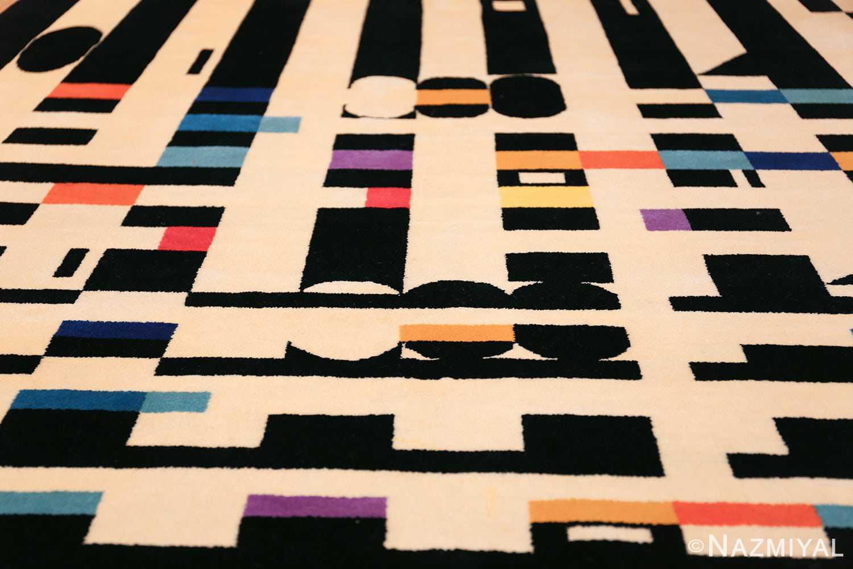 vintage geometric israeli rug by yaacov agam 49772 field Nazmiyal