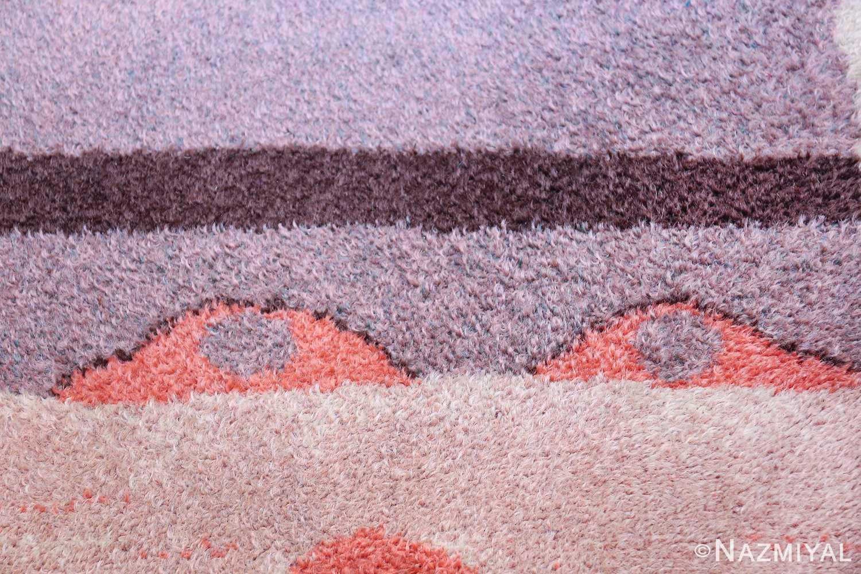 Vintage Paul Klee Arab Song Scandinavian Ege Art Line rug 49785 eyes Nazmiyal