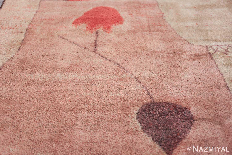 Vintage Paul Klee Arab Song Scandinavian Ege Art Line rug 49785 line Nazmiyal