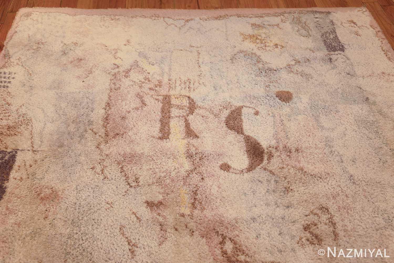 vintage paul klee scandinavian rug 49757 top Nazmiyal
