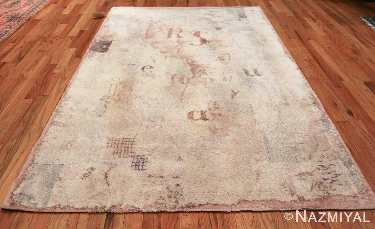 vintage paul klee scandinavian rug 49757 whole Nazmiyal