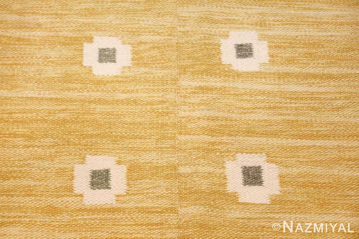 vintage scandinavian swedish kilim rug 49748 stars Nazmiyal