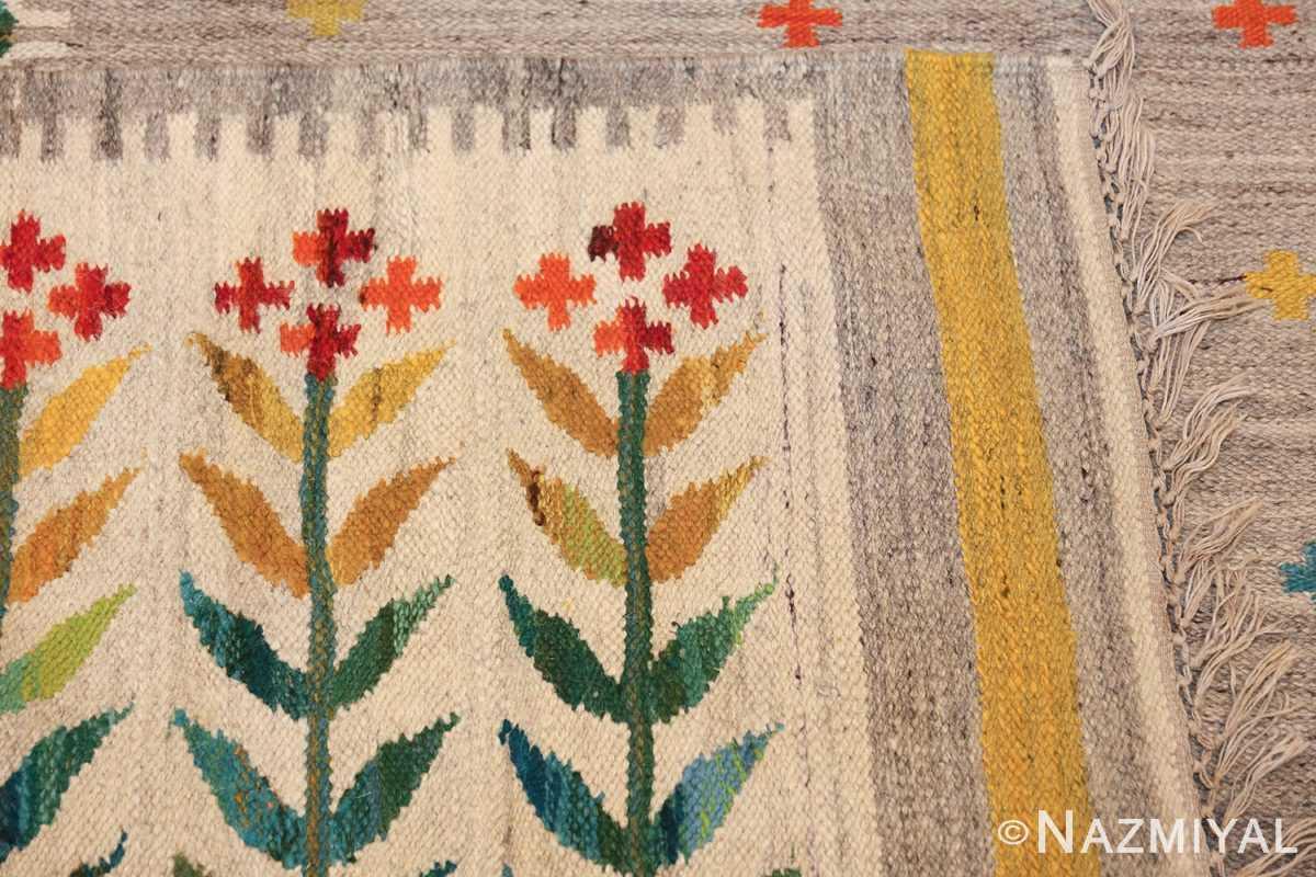 vintage scandinavian swedish rug 49771 knots Nazmiyal