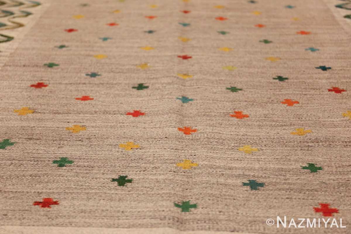 vintage scandinavian swedish rug 49771 stars Nazmiyal