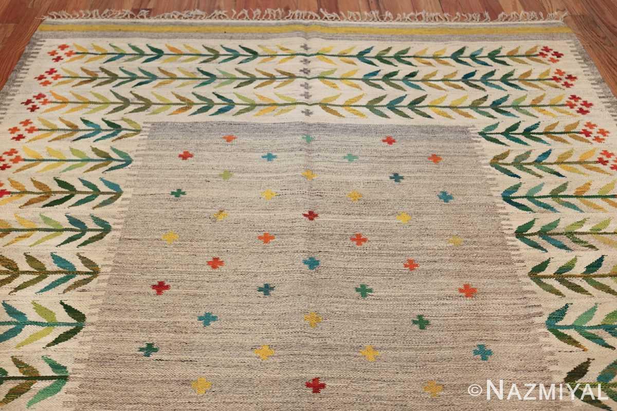 vintage scandinavian swedish rug 49771 top Nazmiyal
