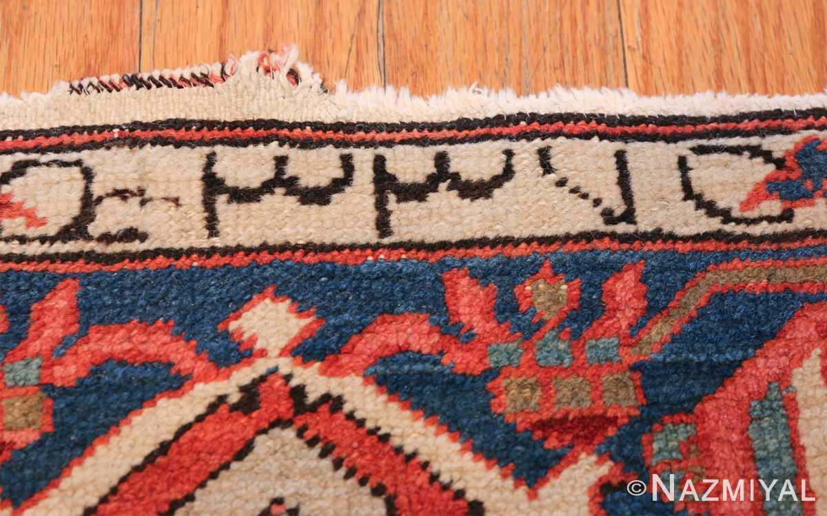 wide hallway antique persian heriz rug 49766 date Nazmiyal