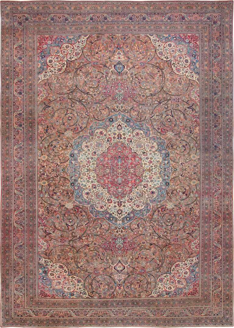Large Antique Persian Khorassan Rug 49694 Nazmiyal