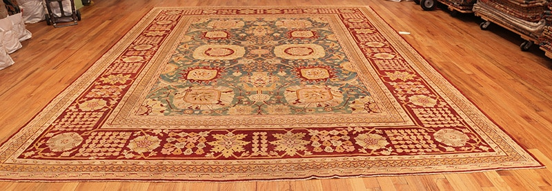 Lay Carpet Completely flat On Floor - Nazmiyal