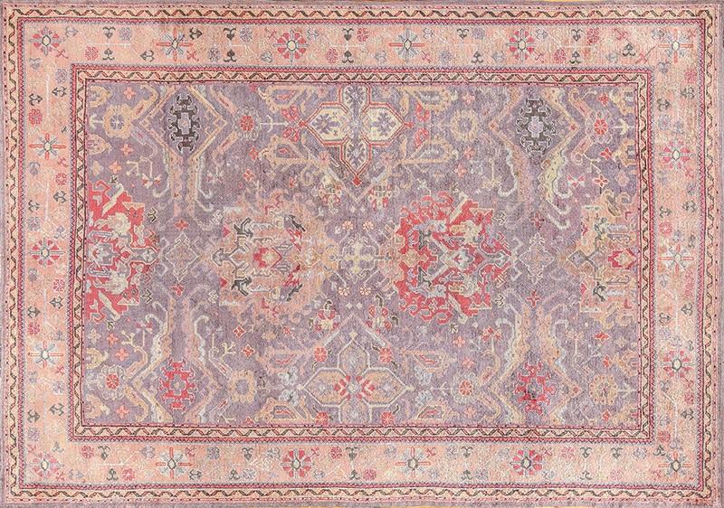 Picture of a Grey Antique Turkish Carpet - Nazmiyal