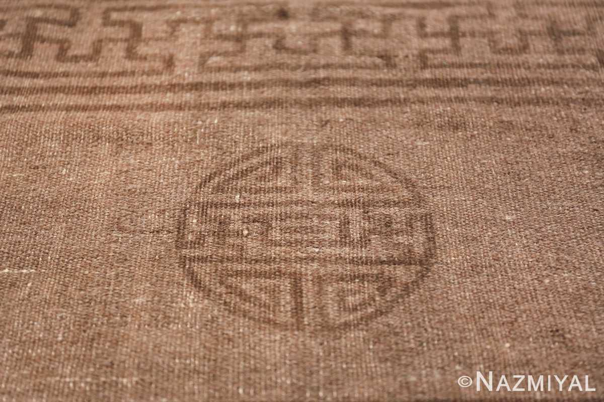 Antique Mongolian Kilim Rug 49800 circle Nazmiyal