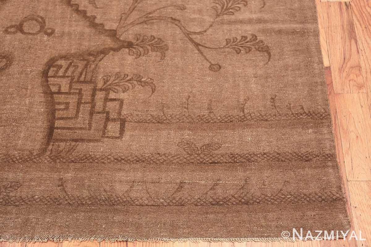 Antique Mongolian Kilim Rug 49800 corner Nazmiyal
