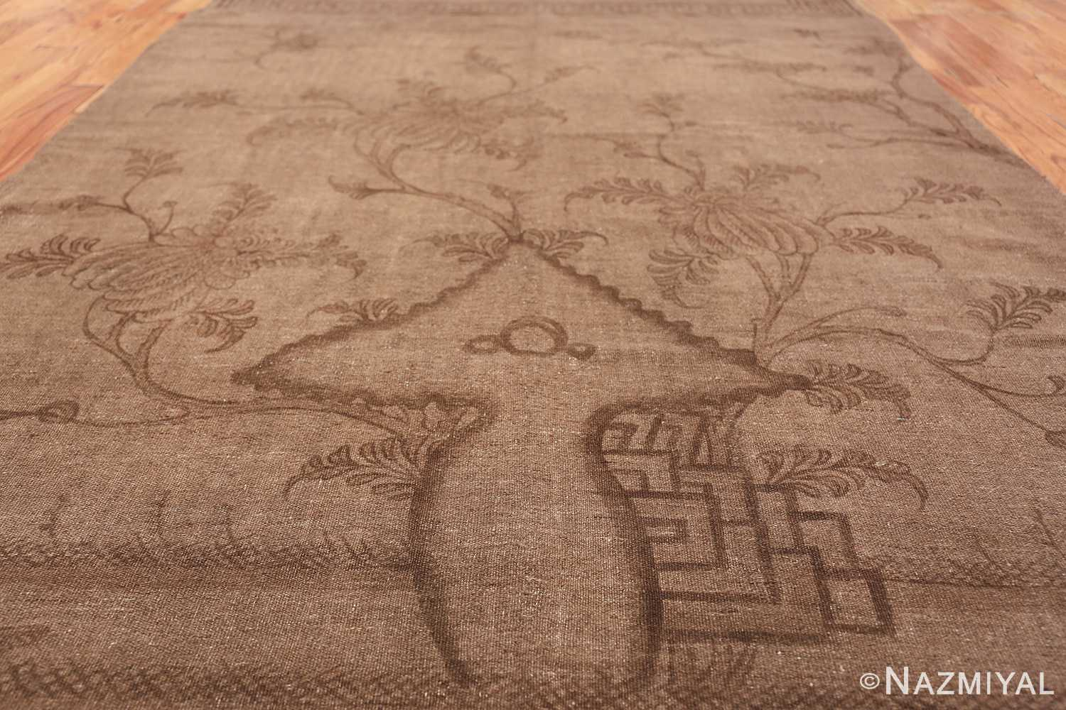 Antique Mongolian Kilim Rug 49800 field Nazmiyal
