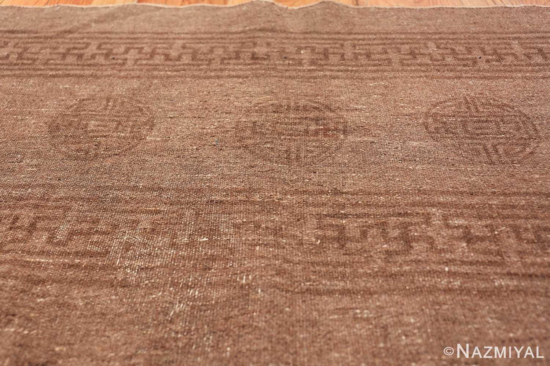 Antique Mongolian Kilim Rug 49801 circles on top Nazmiyal