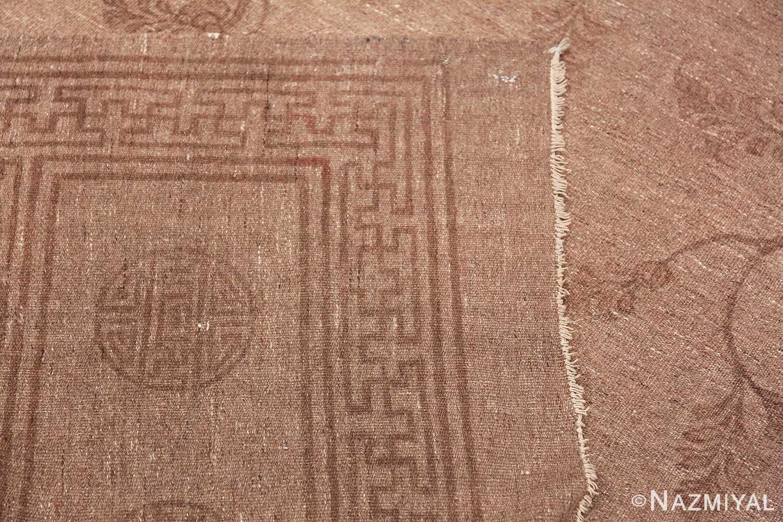 Antique Mongolian Kilim Rug 49801 knots Nazmiyal