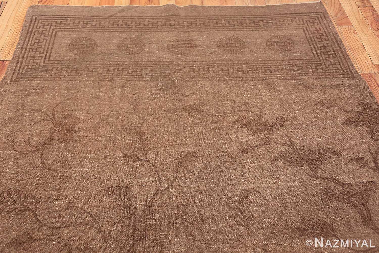 Antique Mongolian Kilim Rug 49801 top Nazmiyal