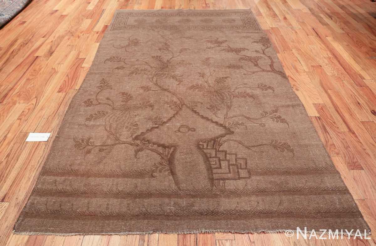 Antique Mongolian Kilim Rug 49801 whole Nazmiyal